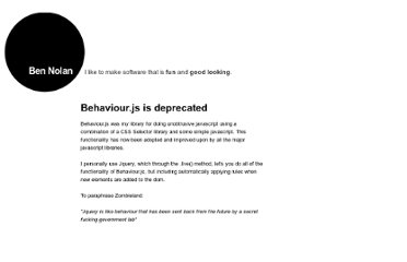 http://bennolan.com/behaviour/