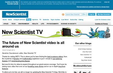 http://www.newscientist.com/video
