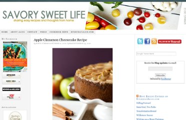 http://savorysweetlife.com/2010/10/apple-cinnamon-cheesecake-recipe/