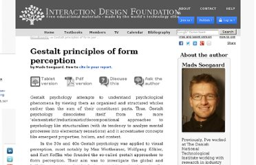 http://www.interaction-design.org/encyclopedia/gestalt_principles_of_form_perception.html