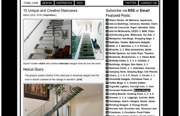 http://www.toxel.com/inspiration/2010/03/22/15-unique-and-creative-staircases/