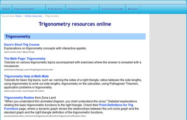 http://www.homeschoolmath.net/online/trigonometry.php