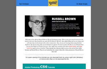 http://www.russellbrown.com/tips_tech.html