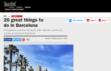 http://www.timeout.com/barcelona/features/35/20-great-things-to-do-in-barcelona