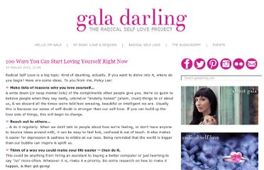 http://galadarling.com/article/100-ways-you-can-start-loving-yourself-right-now