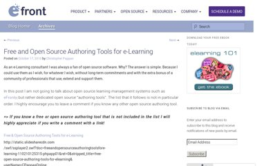 http://blog.efrontlearning.net/2010/10/open-source-authoring-tools-for-e.html