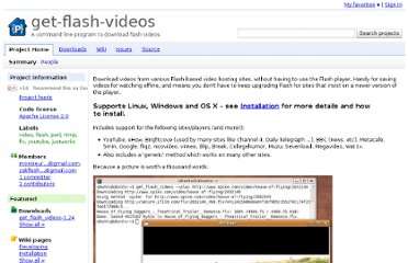http://code.google.com/p/get-flash-videos/