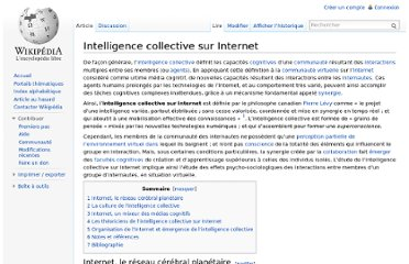 http://fr.wikipedia.org/wiki/Intelligence_collective_sur_Internet