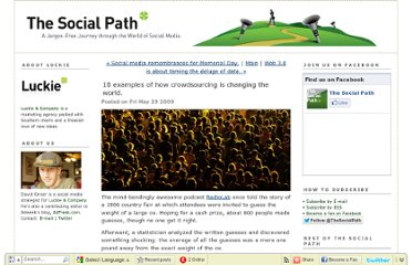 http://www.thesocialpath.com/2009/05/10-examples-of-crowdsourcing.html
