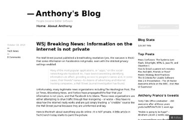 http://anthonyfranco.wordpress.com/2010/10/18/wsj-breaking-news-information-on-the-internet-is-not-private/