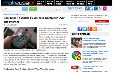 http://www.makeuseof.com/tag/the-best-tools-to-watch-tv-on-your-computer/