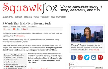 http://www.squawkfox.com/2009/01/19/6-words-that-make-your-resume-suck/