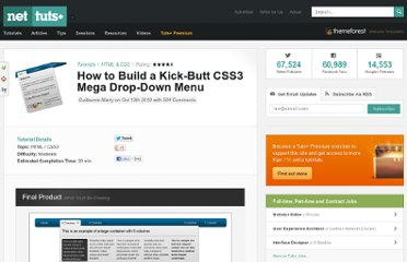 http://net.tutsplus.com/tutorials/html-css-techniques/how-to-build-a-kick-butt-css3-mega-drop-down-menu/