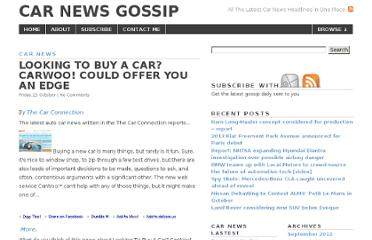 http://carnews.gossipblender.com/car-news/looking-to-buy-a-car-carwoo-could-offer-you-an-edge/
