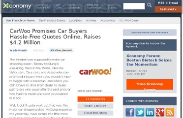 http://www.xconomy.com/san-francisco/2010/10/13/carwoo-promises-car-buyers-hassle-free-quotes-online-raises-4-2-million/