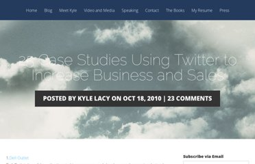 http://kylelacy.com/25-case-studies-using-twitter-to-increase-business-and-sales/