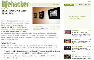 http://lifehacker.com/395358/build-your-own-wire-photo-wall
