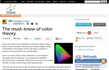 http://css.dzone.com/articles/must-know-color-theory