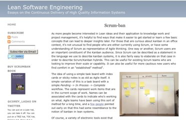 http://leansoftwareengineering.com/ksse/scrum-ban/