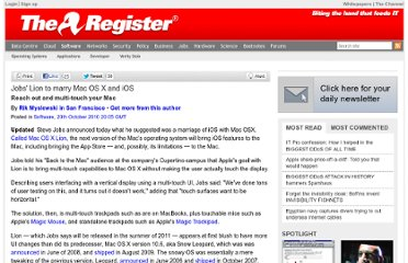 http://www.theregister.co.uk/2010/10/20/mac_os_x_lion/