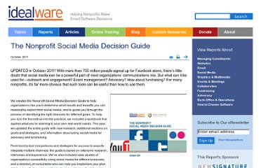 http://www.idealware.org/reports/nonprofit-social-media-decision-guide
