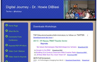 http://drhowie.com/Downloads-Workshops.html