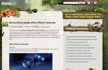 http://www.noupe.com/tutorial/50-excellent-adobe-after-effects-tutorials.html