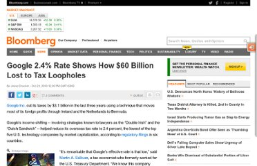 http://www.bloomberg.com/news/2010-10-21/google-2-4-rate-shows-how-60-billion-u-s-revenue-lost-to-tax-loopholes.html