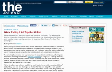 http://thejournal.com/articles/2010/10/20/wikis-pulling-it-all-together-online.aspx