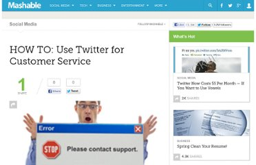 http://mashable.com/2009/05/09/twitter-customer-service/
