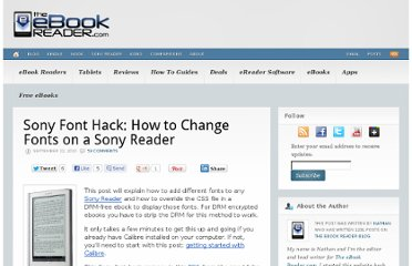 http://blog.the-ebook-reader.com/2010/09/22/sony-font-hack-how-to-change-fonts-on-a-sony-reader/