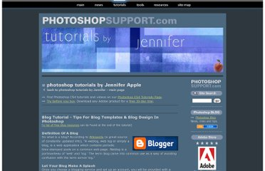http://www.photoshopsupport.com/tutorials/jennifer/blog-templates.html