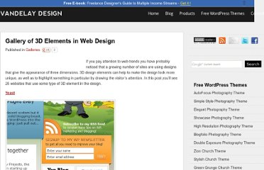 http://vandelaydesign.com/blog/galleries/3d-elements-in-web-design/