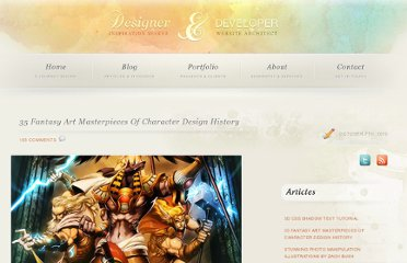 http://pgwebdesign.net/blog/35-mythological-art-masterpieces-of-character-design-history