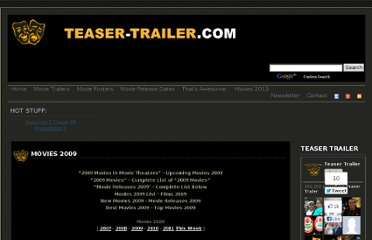 http://teaser-trailer.com/movies-2009.html