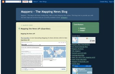 http://mapperz.blogspot.com/2009/03/mapping-news-api-guardian.html