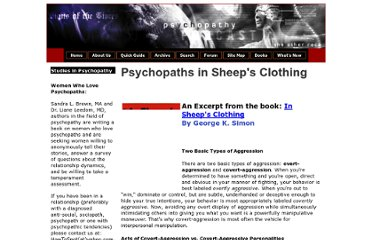 http://www.cassiopaea.com/cassiopaea/psychopaths_in_sheeps_clothing.htm