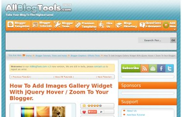http://www.allblogtools.com/tricks-and-hacks/how-to-add-images-gallery-widget-with-jquery-hover-zoom-to-your-blogger/