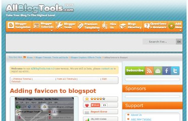 http://www.allblogtools.com/tricks-and-hacks/blogger-tricks/adding-favicon-to-blogger/