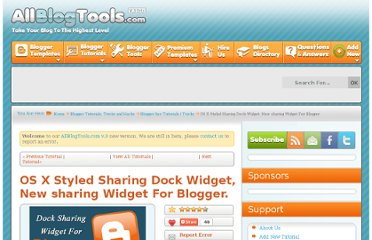 http://www.allblogtools.com/tricks-and-hacks/os-x-styled-sharing-dock-widget-new-sharing-widget-for-blogger/