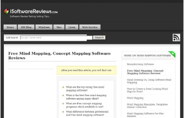 http://www.isoftwarereviews.com/free-mind-mapping-concept-mapping-software-reviews/