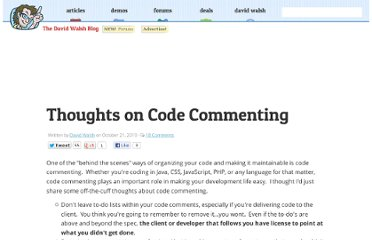 http://davidwalsh.name/code-commenting