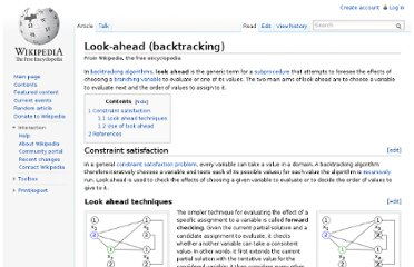 http://en.wikipedia.org/wiki/Look-ahead_(backtracking)