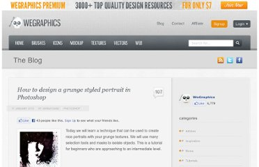 http://wegraphics.net/blog/tutorials/photoshop/how-to-design-a-grunge-styled-portrait-in-photoshop/