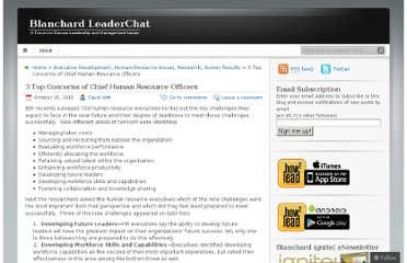 http://leaderchat.org/2010/10/25/3-top-concerns-of-chief-human-resource-officers/