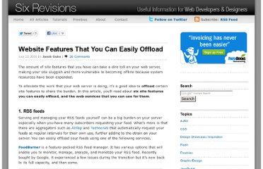 http://sixrevisions.com/web-applications/website-features-that-you-can-easily-offload/