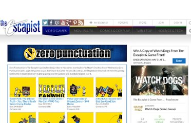 http://www.escapistmagazine.com/videos/view/zero-punctuation