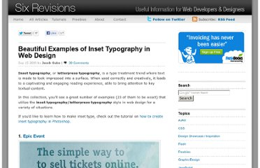 http://sixrevisions.com/design-showcase-inspiration/beautiful-examples-of-inset-typography-in-web-design/