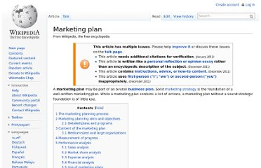 http://en.wikipedia.org/wiki/Marketing_plan