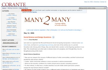 http://many.corante.com/archives/2006/05/12/social_science_and_design_questions.php